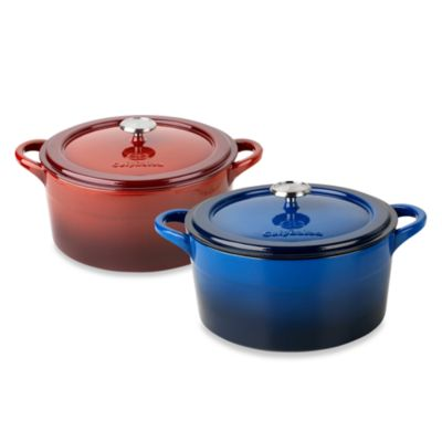 Simply Calphalon® Enamel Cast Iron 7-Quart Dutch Ovens