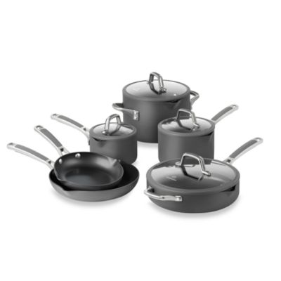 Simply Calphalon® Easy System™ Nonstick 10-Piece Cookware Set