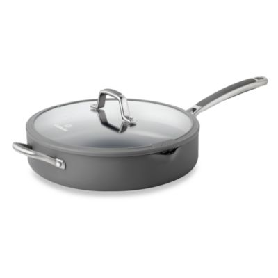 Simply Calphalon® Easy System™ Nonstick 5-Quart Covered Saute Pan