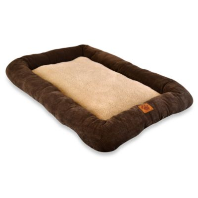 SnooZZy® Low Bumper 25-Inch x 20-Inch Crate Mat in Coffee