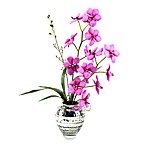 D & W Silks Purple Vanda Orchid