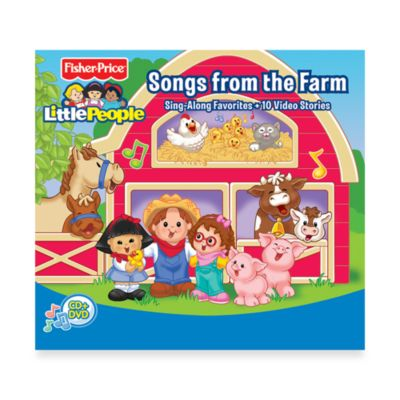Fisher-Price® Little People Songs from the Farm 2-Disc CD & DVD Set