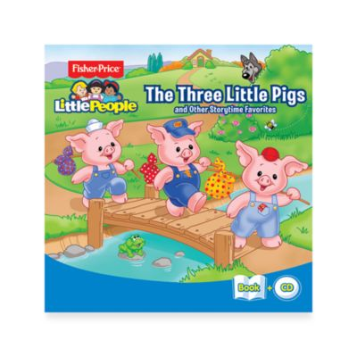 Fisher-Price Little People Three Little Pigs & Other Storytime Favorites CD/Book Set