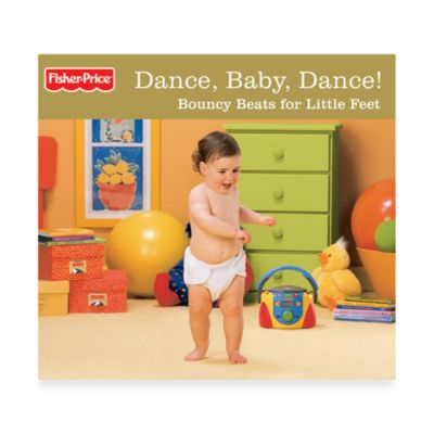Fisher-Price Dance, Baby, Dance! Bouncy Beats for Little Feet Gold Edition CD