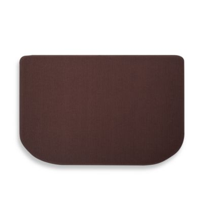 Microdry® Memory Foam HD™ 22-Inch x 32-Inch Textra Kitchen Mat in Coffee