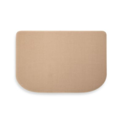 Microdry® Memory Foam HD™ Textra Kitchen Mat  in Linen