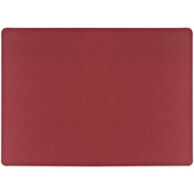 Tuscan Solid Placemat in Brick