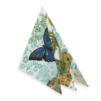 Croscill Butterfly Palm Napkin