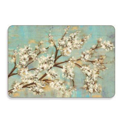 Kyoto Cherry Blossoms Hard-Backed Placemats (Set of 2)