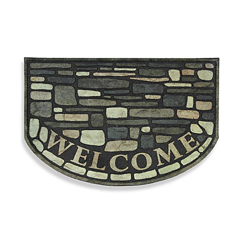 Estate 23-Inch x 35-Inch Rubber Welcome Door Mat