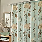 M. Style Cassandra 70-Inch x 72-Inch Fabric Shower Curtain in Blue