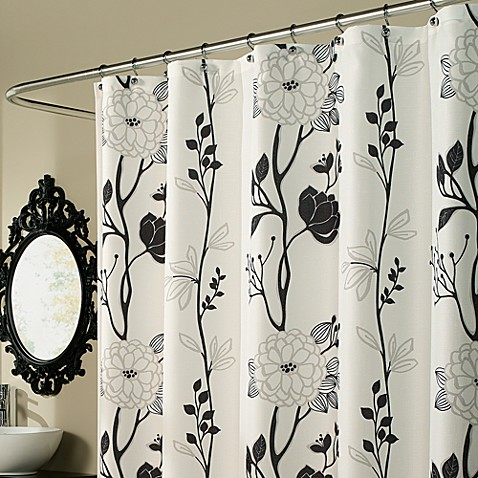 Buy Black And White Curtains From Bed Bath Beyond