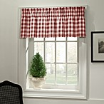 Classic Check Valance in Red