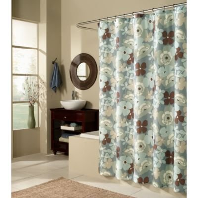 M. Style Pop Art Garden Shower Curtain 70-Inch X 72-Inch