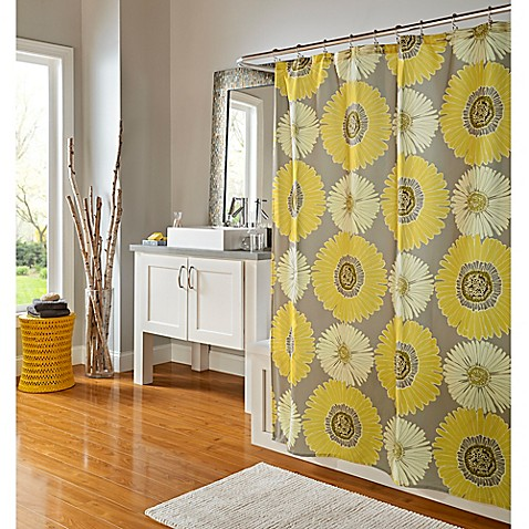M. Style Sunflowers 70-Inch x 72-Inch Shower Curtain