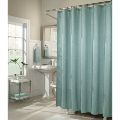 M. Style Waves 72-Inch x 72-Inch Shower Curtain in Peacock