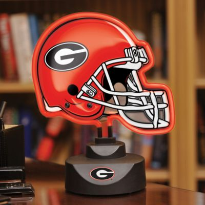 Red Black Helmet Lamp