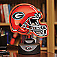University of Georgia Neon Helmet Lamp