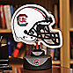 University of South Carolina Neon Helmet Lamp