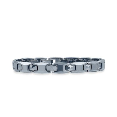 STEL™ Tungsten 8.5-Inch Thin Magnetic Therapy Bracelet