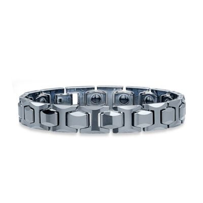 STEL™ Tungsten 8.5-Inch Wide Magnetic Therapy Bracelet