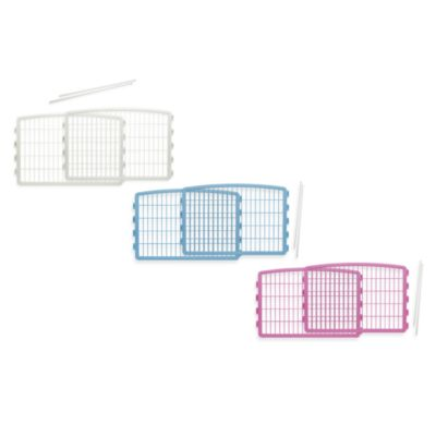 IRIS® 2-Piece Add-On Kit for 4-Panel Indoor/Outdoor Pet Pen