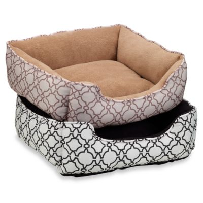 Paws and Claws Tangiers Lounger Bed in Black