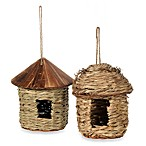 Grass Twine Indoor/Outdoor Hanging Bird Feeder/House