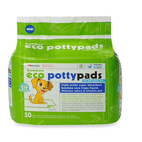 Petkin® 50-Count Puppy Pottypads