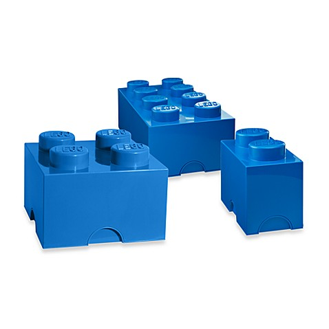 LEGO® Brick Storage Pieces in Blue