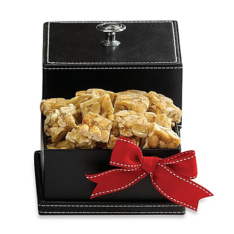 Peanut Squares Gourmet Knob Box in Black