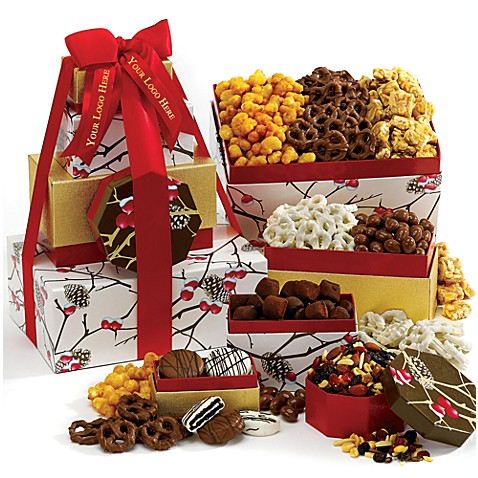 Season's Best Gourmet Gift Tower