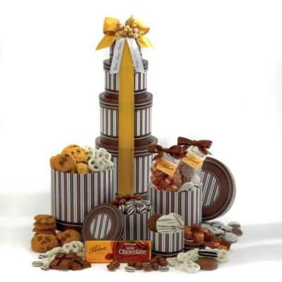 Chocolate Cravings Gift Tower