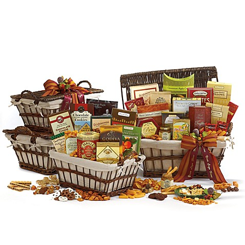 Deluxe Grand Gourmet Gift Basket Tower