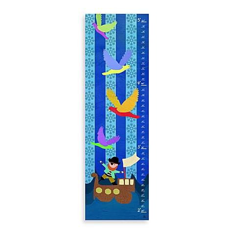 Green Leaf Art On The Sea Growth Chart