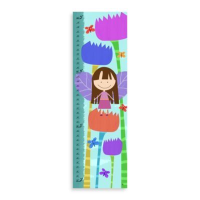 Green Leaf Art Fairy Princess Growth Chart