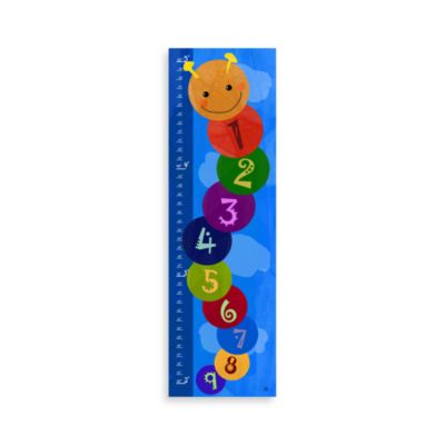 Green Leaf Art Worm Numbers Growth Chart