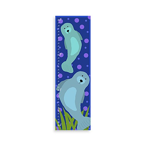 Green Leaf Art Sea Lions Growth Chart