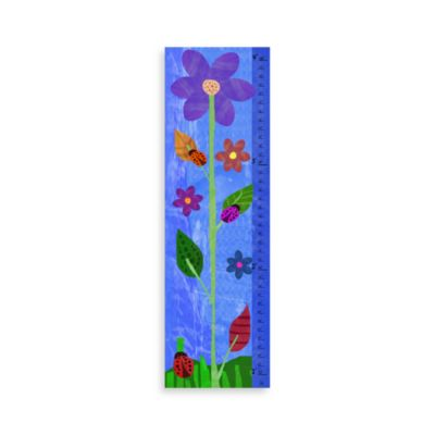 Green Leaf Art House Flower Growth Chart