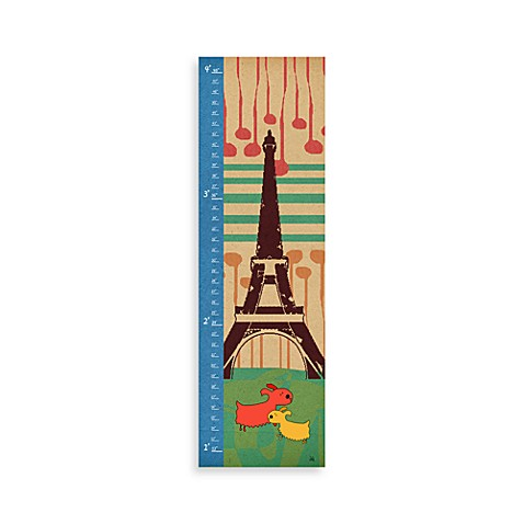 Green Leaf Art Dogs in Paris Growth Chart