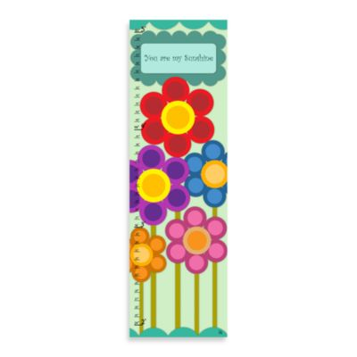 Green Leaf Art You Are My Sunshine Growth Chart