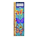 Green Leaf Art Butterfly Kisses Growth Chart
