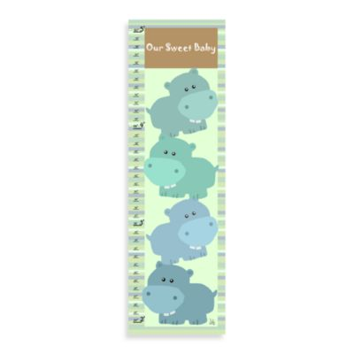 Green Leaf Art Our Sweet Baby Growth Chart