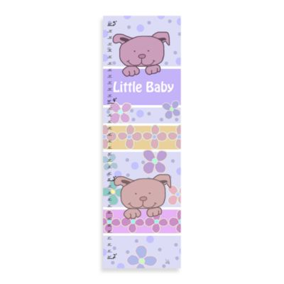 Green Leaf Art Little Baby Growth Chart