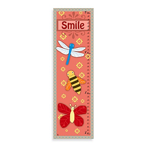 Green Leaf Art Smile Growth Chart