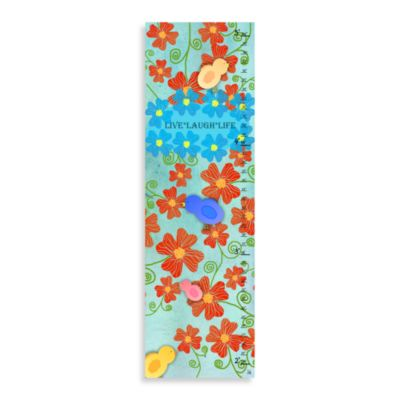 Green Leaf Art Live Laugh Life Growth Chart