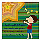 Green Leaf Art Little Star Canvas Art