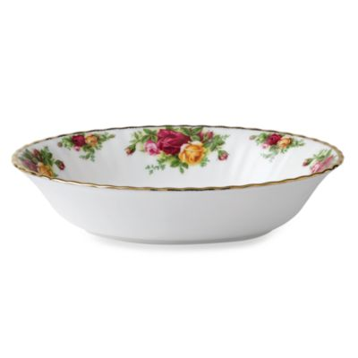 Royal Albert 32-Ounce Vegetable Bowl in Old Country Roses
