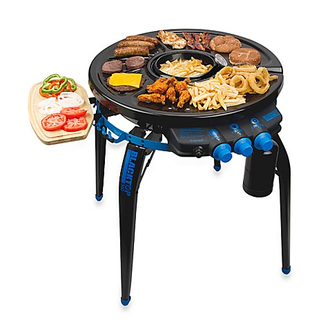Blacktop 360® Party Hub Grill/Fryer