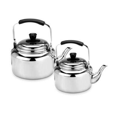 Demeyere Resto 4.2-Quart Water Kettle in Stainless Steel